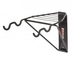 Wandrek - Wandhouder - Wandbeugel fiets - fietsophangsysteem - fiets ophangen - racefiets, MTB - helm en handschoenen