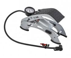 Voetpomp mountainbike – Fietspomp ATB - MTB – Fietspomp voetpomp - voetpedaal + Manometer – drukmeter max. 4,5 bar – 65 psi